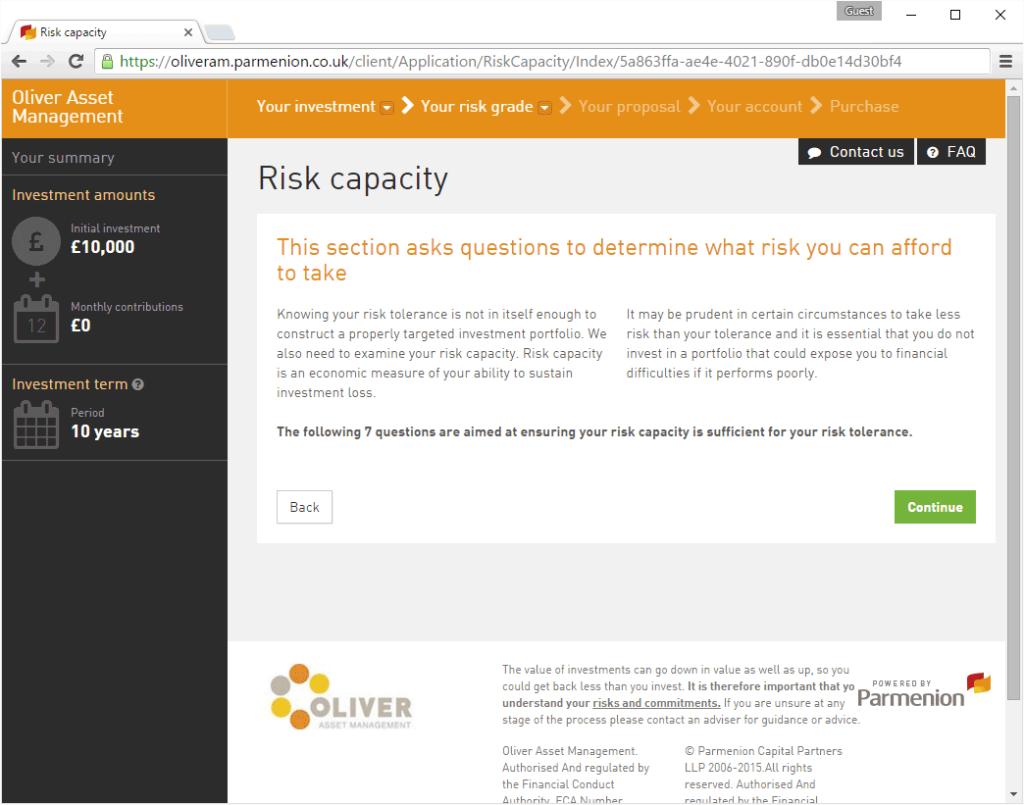 Risk Capacity